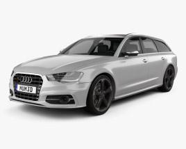 Audi S6 (C7) avant 2012 3D model