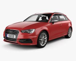 Audi S3 Sportback 2014 3D model