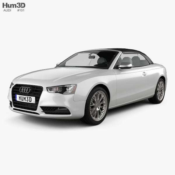 Audi A5 Cabriolet 2012 3d Model Hum3d