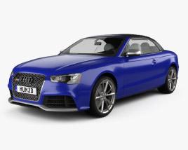 Audi RS5 cabriolet 2012 3D model