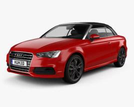 Audi S3 Cabriolet 2014 3D model