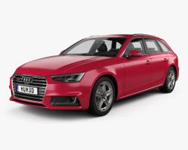 Audi A4 (B9) avant S-Line 2016 3D model