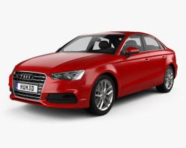 Audi S3 sedan 2013 3D model