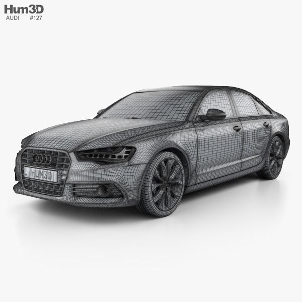 Audi A6 (C7) with HQ interior 2012 3D model - Hum3D Black Audi A C on audi c7 s7, audi rs6, audi b6 a4, audi b8 a4, audi gt,