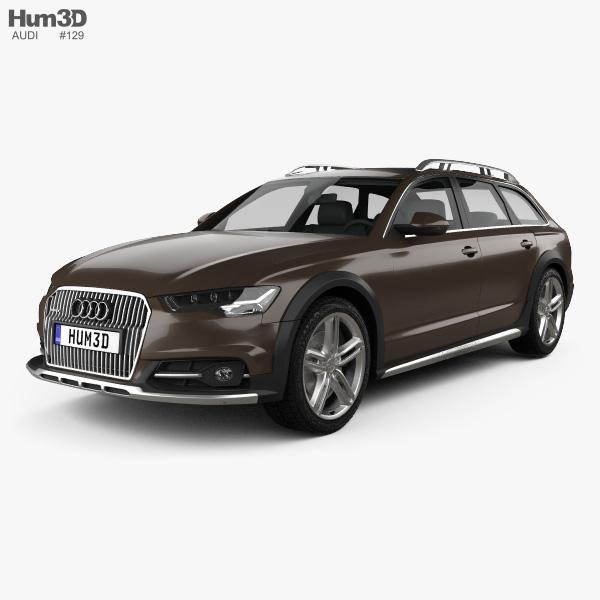 Audi A6 (C7) Allroad 2015 3D Model