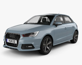 Audi A1 Sportback 2015 3D model