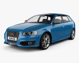Audi S3 Sportback 2008 3D model