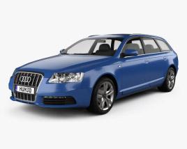 Audi S6 Avant 2006 3D model