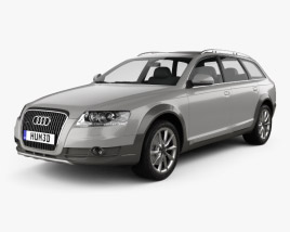 Audi A6 (C6) Allroad 2006 3D model