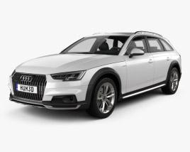 Audi A4 (B9) Allroad 2017 3D model
