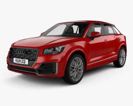 Audi Q2 S-Line 2017 3D model