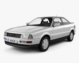 Audi Coupe (8B) 1988 3D model