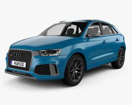Audi RS Q3 Performance 2017 3D model