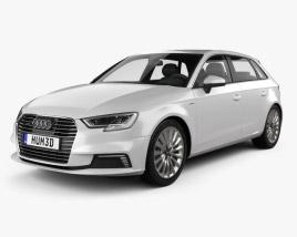 Audi A3 Sportback e-tron 2016 3D model