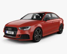 Audi RS3 Sedan 2017 3D model