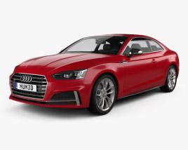 Audi S5 coupe 2017 3D model