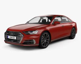 Audi A8 (D5) 2018 3D model
