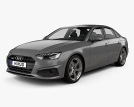 Audi A4 sedan 2019 3D model