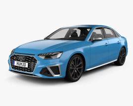 Audi S4 sedan 2019 3D model