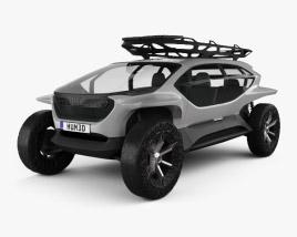Audi AI:TRAIL quattro 2019 3D model