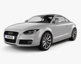 Audi TT coupe 2010 3D model