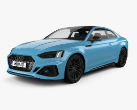 Audi RS5 coupe 2019 3D model