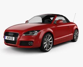 Audi TT roadster 2010 3D model