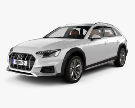 Audi A4 Allroad with HQ interior 2019 3D model