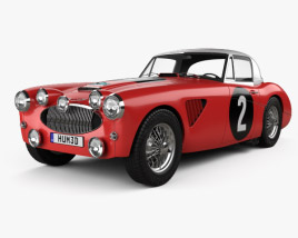 Austin Healey 3000 Alpine Rally 1962 3D model