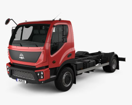 Avia D75 Chassis Truck 2018 3D model