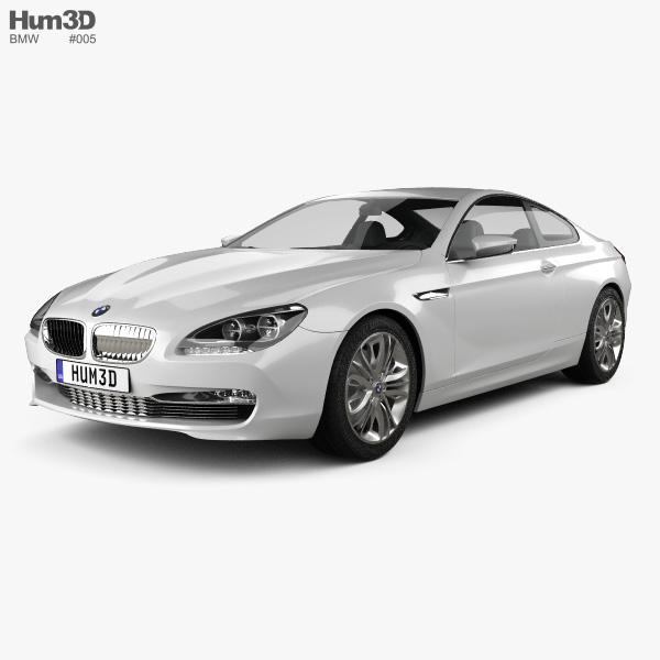 BMW 6 Series Coupe Concept 2010 3D Model