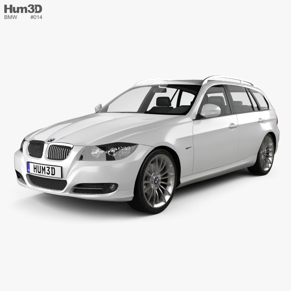 BMW 3 Series Touring 2011 3D Model