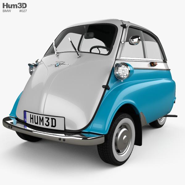 bmw isetta 300 1956 3d model vehicles on hum3d. Black Bedroom Furniture Sets. Home Design Ideas