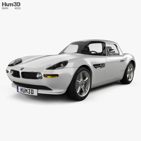 Bmw Z Forum: BMW Z8 (E52) 2003 3D Model