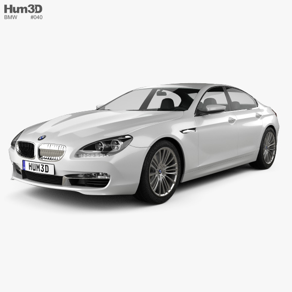 2004 2010 Bmw 6 Series Convertible Top Replacement: BMW 6 Series Gran Coupe (F14) 2012 3D Model