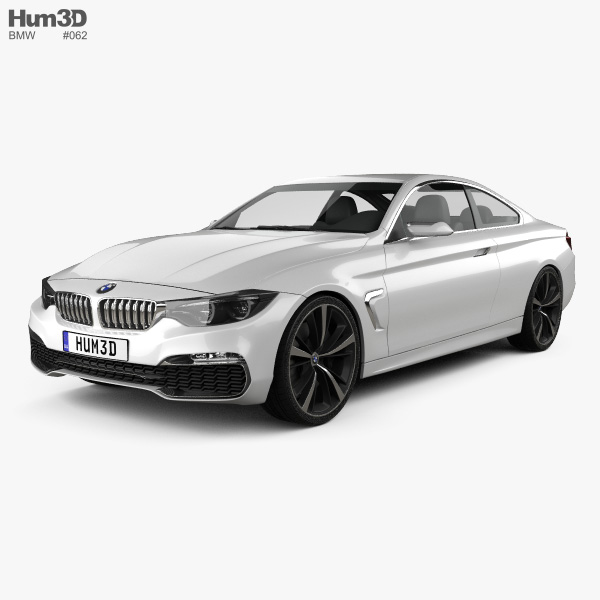 BMW 4 Series Coupe 2013 3D Model