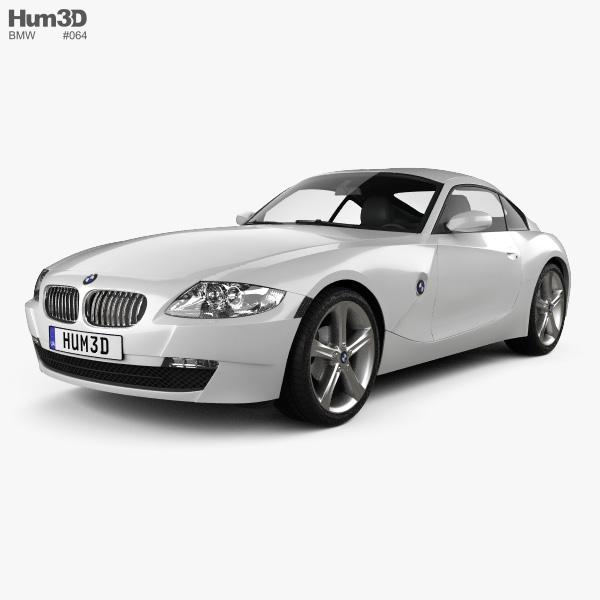 Bmw Z4 Forum: BMW Z4 (E85) Coupe 2002 3D Model