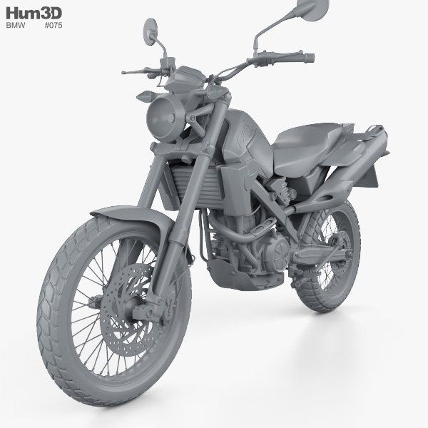 BMW G650X Country 2009 3D model