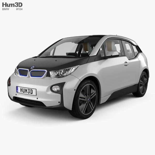 2014 Bmw I3 Camshaft: BMW I3 With HQ Interior 2014 3D Model