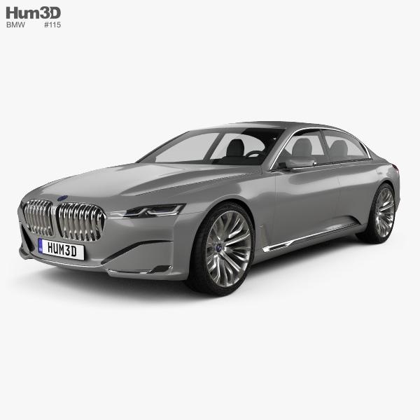 Bmw Vision Future Luxury 2014 3d Model Hum3d