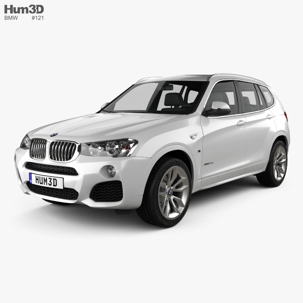 Bmw Sport: BMW X3 M Sport Package (F25) 2014 3D Model