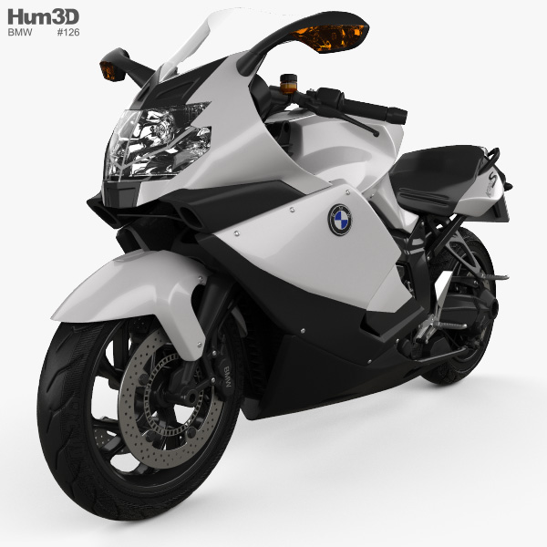 bmw k 1300 s 2014 3d model hum3d. Black Bedroom Furniture Sets. Home Design Ideas