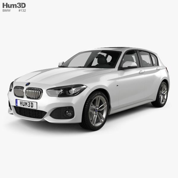 BMW 1 Series (F20) 5-door M Sport Package 2015 3D Model