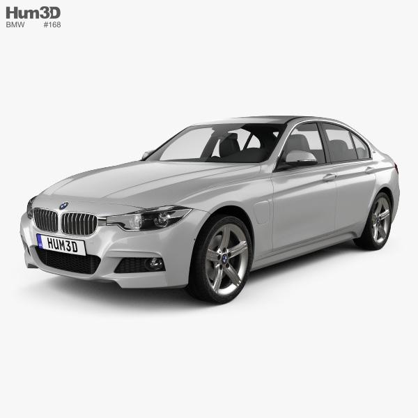 bmw 3 series f30 e 2016 3d model vehicles on hum3d. Black Bedroom Furniture Sets. Home Design Ideas