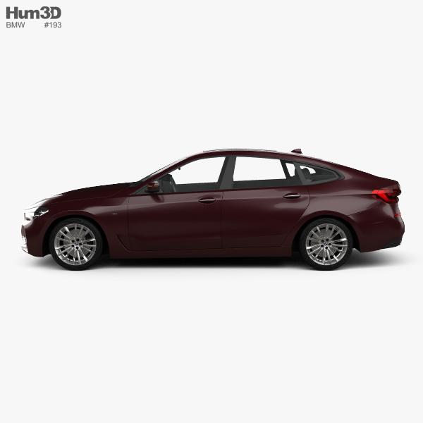 Bmw 6 Series Gt Vs Bmw 5 Series Gt: BMW 6 Series (G32) Gran Turismo Luxury Line 2017 3D Model