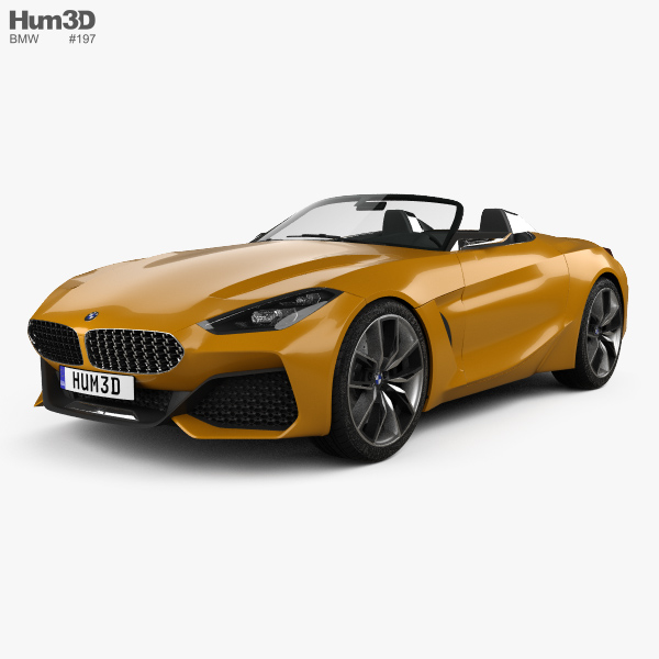 Bmw Z4 M Coupe Review: BMW Z4 2017 3D Model