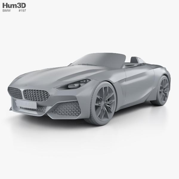 Bmw Z4 Concept: BMW Z4 2017 3D Model