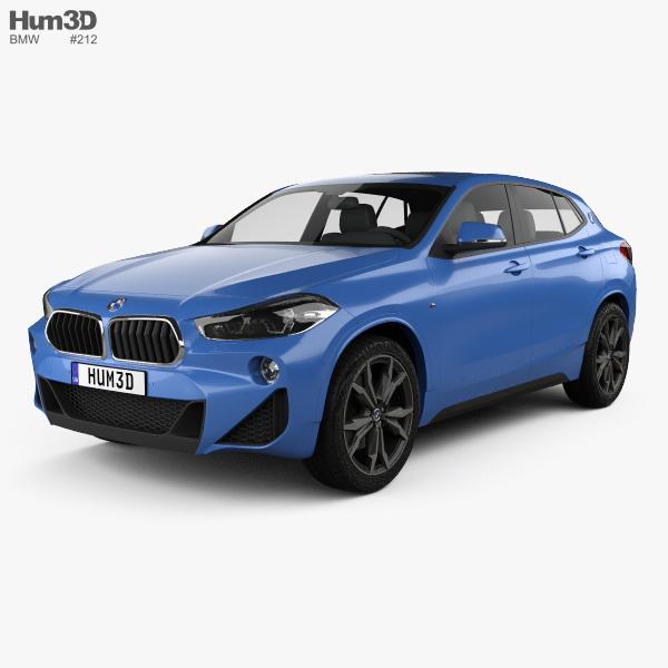 Bmw X2 X2 M35i Hatchback: BMW X2 M Sport 2018 3D Model