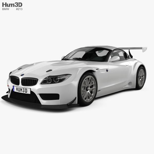 Bmw Z4 Concept: BMW Z4 GT3 2010 3D Model