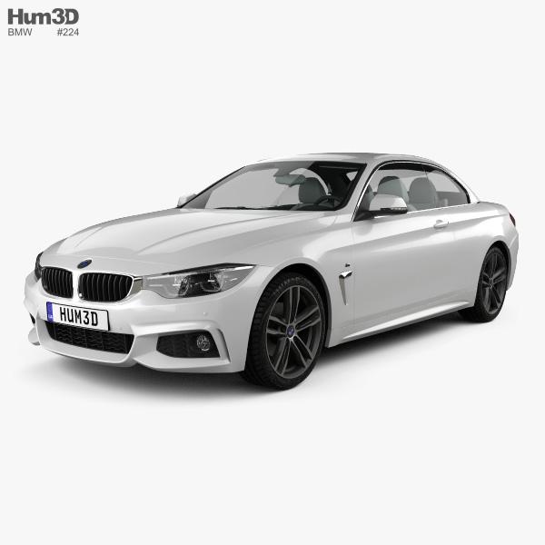 Bmw 3 Series G20 M Sport Sedan 2019 3d Model: BMW 4 Series (F83) M-sport Convertible 2017 3D Model